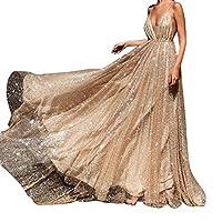 bbf78a8b2d2a LianMengMVP Vestito Donna Elegante Vestiti da Matrimonio Abito in Chiffon  Lunghi Vestito Formale Sera da Cerimonia Bridesmaids