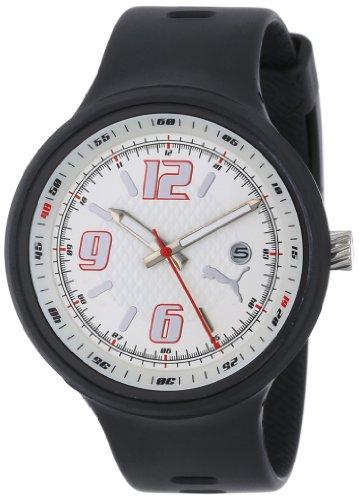 Puma Time Motorsport Herrenuhr SLICK GENTS 3HD BLACK WHITE A.PU910691002 (Puma Slick)