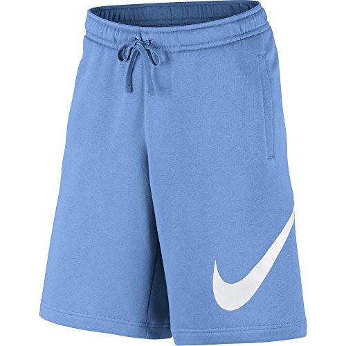 Nike M Nsw FLC EXP Club Herren-Shorts, University Blue/White, M