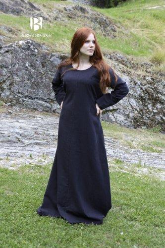 Preisvergleich Produktbild Burgschneider Mittelalter Unterkleid Freya - Schwarz M