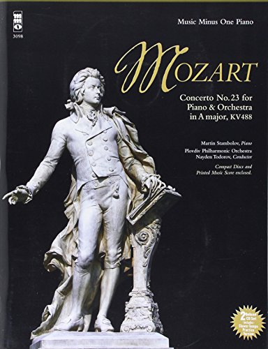 Mozart - Concerto No. 23 in a Major, Kv488: 2-CD Set (Music Minus One (Numbered))