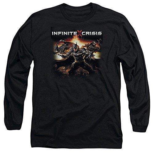 Endlose Krise - Männer Batmen Langarm-T-Shirt Black