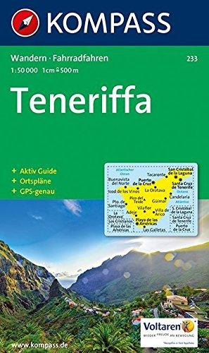 Carte touristique : Teneriffa Wander- und Radtourenkarte 2000 Beil Kompasslexikon