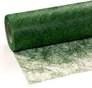 25 m x 30 cm sizoflor vlies original tischband tischl ufer dunkelgr n gr n f r hochzeit. Black Bedroom Furniture Sets. Home Design Ideas