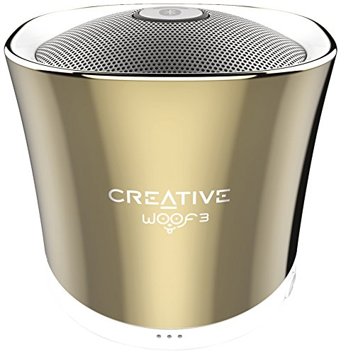 Creative Woof 3 Mini Enceinte portable Bluetooth/Stations MP3 Or
