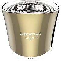 Creative Woof 3 Mini Enceinte portable Bluetooth/Stations MP3 Or