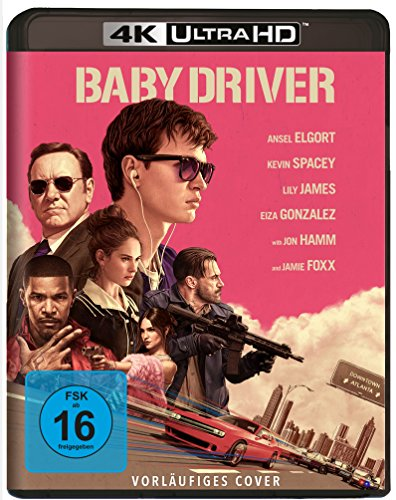Baby Driver - Ultra HD Blu-ray [4k + Blu-ray Disc]