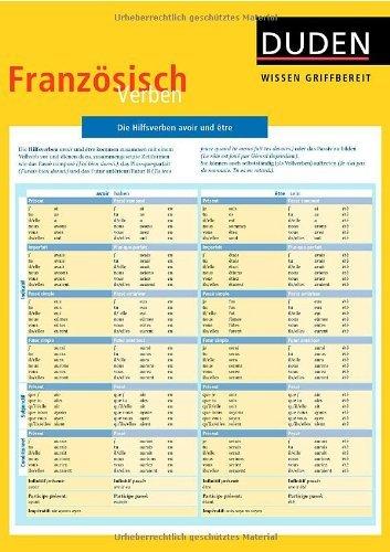 Duden Wissen griffbereit. Französisch Verben