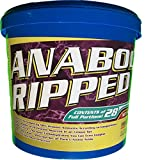 Proteinhaus Anabol Ripped Protein Pulver Eiweißpulver 2270g Shake mit Whey