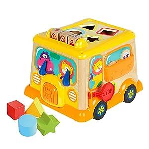 WOOMAX - Autobús de actividades (ColorBaby 46252)
