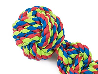 Toyz by Petface Rope Ball Tugger Dog Toy