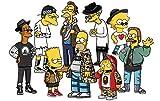 Supreme Bart Simpson 10x8 Poster Print