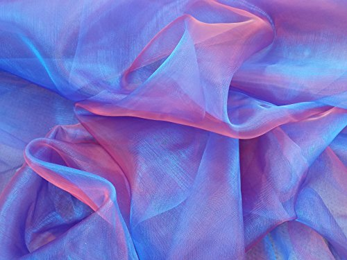 two-tone-blue-shot-red-organza-voile-wedding-sashes-dress-draping-net-curtains-window-fabric-prestig