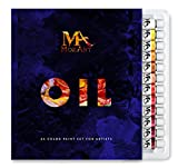 Set Colori a Olio - Set di 24 Colori ad Olio Ricchi di Pigmenti - Da 12 ml - Qualità artistica - Pittura a Olio per Artisti, Studenti e Principianti - Per Paesaggi, Ritratti e Varie Superfici - MozArt Supplies