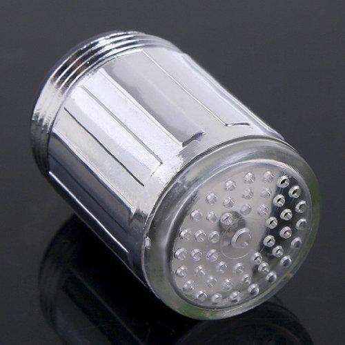 MagiDeal LED Licht Wasserhahn Armatur Spültischarmatur Küchenarmatur mit 7 Farben - 2
