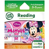 LeapFrog Explorer Game: Disney Minnie Mouse Bow-tique Super Surprise Party! (for LeapPad and Leapster)