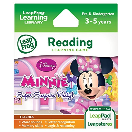 ] Leapfrog Explorer Learning Game Disney Minnie's Bow-Tique Super Surprise Party ()