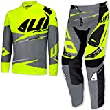 UFO PLAST KIT COMPLETO REVOLT 2017 GIALLO FLUO MADE IN ITALY XL+52 CROSS ENDURO
