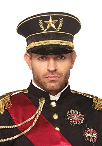 Herren Offiziershut von Leg Avenue (Militär Leg Avenue Kostüm)
