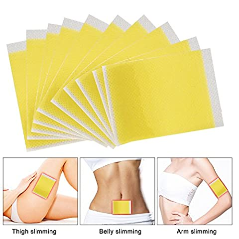 Slimming Patches- 100PCS Slimming Fat Burning Toxin Eliminating Sleeping Slim Patches Weight Loss