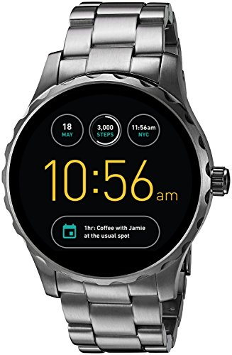Fossil Q Marshal Touchscreen Gunmetal Stainless Steel Smartwatch