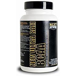 BCAA Aminoácidos ramificados | NEW Ultra RAM 200 comprime 270 gr | Informe 2.1.1 | Mejorado con HMB y Arginina AKG | Fortalecimiento y recuperación de la masa muscular | Complementos de ciclismo - suplementos de culturismo leucina valina isoleucina
