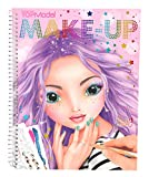 Depesche 10199 Libro para Colorear Create Your Make Up TOPModel