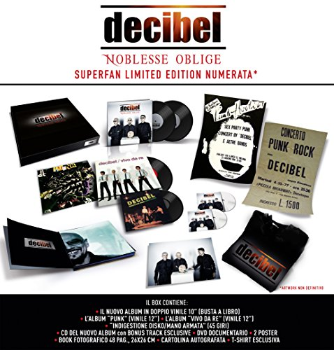 Noblesse Oblige - Superfan Limited Edition [5 Vinili + 1 CD + 1 DVD + 2 Poster + Book + Cartolina Autografata + T-Shirt] (Esclusiva Amazon.it)