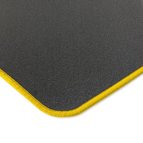 Preisvergleich Produktbild Eight Tec Handelsagentur V501ET_30166 Passgenaue Velours-Fußmatten Dunkelgrau und Rand in Gold - Fahrzeugtyp in der Artikelbeschreibung beachten!