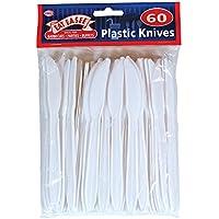 Desechables Plasitc cuchillos - Picnics barbacoas al aire libre