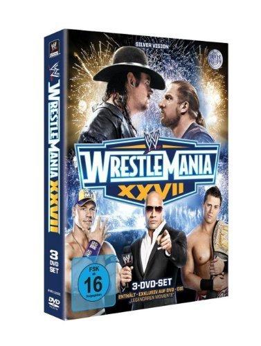 WWE - Wrestlemania 27 [3 DVDs] Wrestlemania 3 Dvd