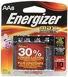 Eveready Energizer Max Alkaline Batteries, 8-Pack #E91BP-8/E91BP8-F2