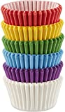Wilton Mini Baking Cups Rainbow, Acrylic, Multicoloured, pack of 150