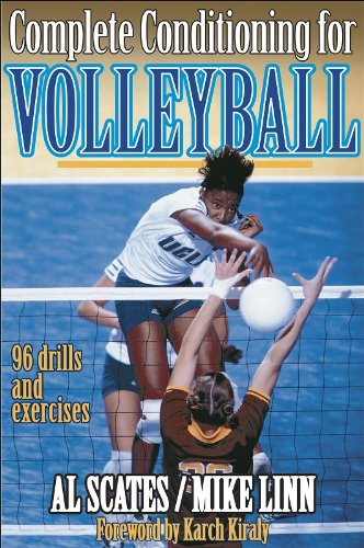 Complete Conditioning for Volleyball (Complete Conditioning for Sport) por A.E. Scates
