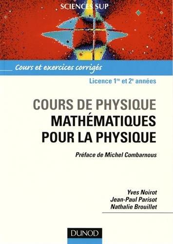 Cours de physique : Mathématiques pour ...