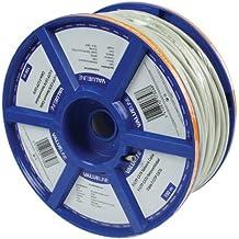 Valueline VLCR85292E100 - Cable de red de 100 metros (Cat6, F/UTP), gris