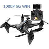 GPS FPV RC Drone With HD Camera Live Video And GPS Return Home Quadcopter With Adjustable Wide-Angle 720P/1080P HD WiFi Camera