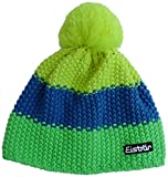 Eisbär Kinder Mütze Star Neon Pompon MÜ Kids, LightGreen/Bugatti/LightYellow, One Size