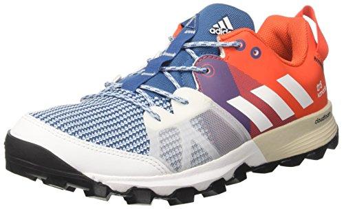 adidas Kanadia 8 Tr M, Zapatos Correr Hombre, Rojo (Azubas/ftwbla/energi), 41 1/3 EU