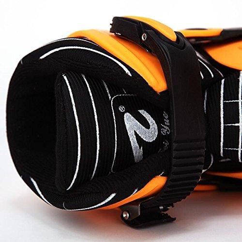 KE Adulte 50-70KG unisexe exercice pour perdre du poids sauts de kangourou Shoes Shoes Rebound Orange