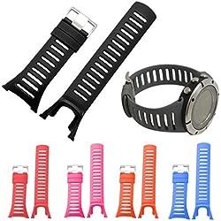 Kingko® Rubber Replacement Watch Band Strap For SUUNTO Ambit1, Ambit2, Ambit2 S, Ambit2 R, AMBIT 2 SAPPHIRE, AMBIT 3 PEAK