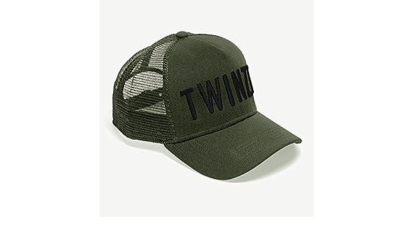 ff39f3dfcefa8 Twinzz 3D Mesh Trucker Cap olive OLI ALL  Amazon.de  Bekleidung