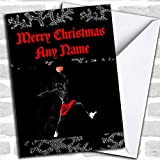 Best Basketball Cards - Basketball Christmas Card With Envelope, Can Be Fully Review