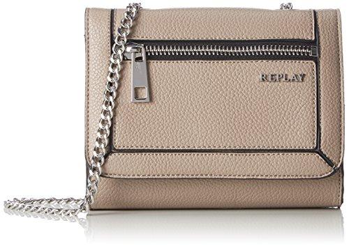 REPLAY - Fw3720.000.a0180b, Borse a spalla Donna Beige (Sand)
