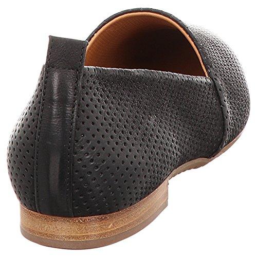 Paul Green | Leder Slipper | Smartcalf - schwarz schwarz