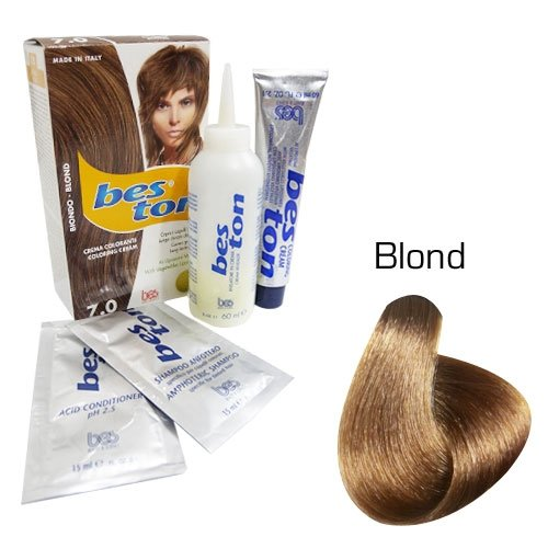 Kit coloration cheveux - Teinte Blond