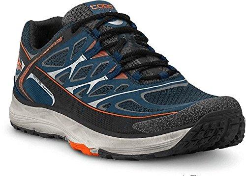 Topo Athletic MT2Trail Running Shoe–Uomo Navy/Grigio 9