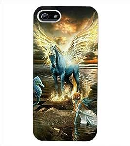 ColourCraft Fantasical Creatures Design Back Case Cover for APPLE IPHONE 5
