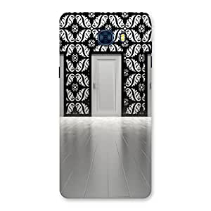 Neo World White Daze Door Back Case Cover for Galaxy C7 Pro