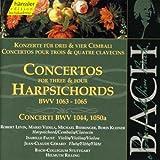 Bach: Concertos for Three & Four Harpsichords BWV 1063-1065; BWV 1044, 1050a (Edition Bachakademie Vol 130) /Rilling